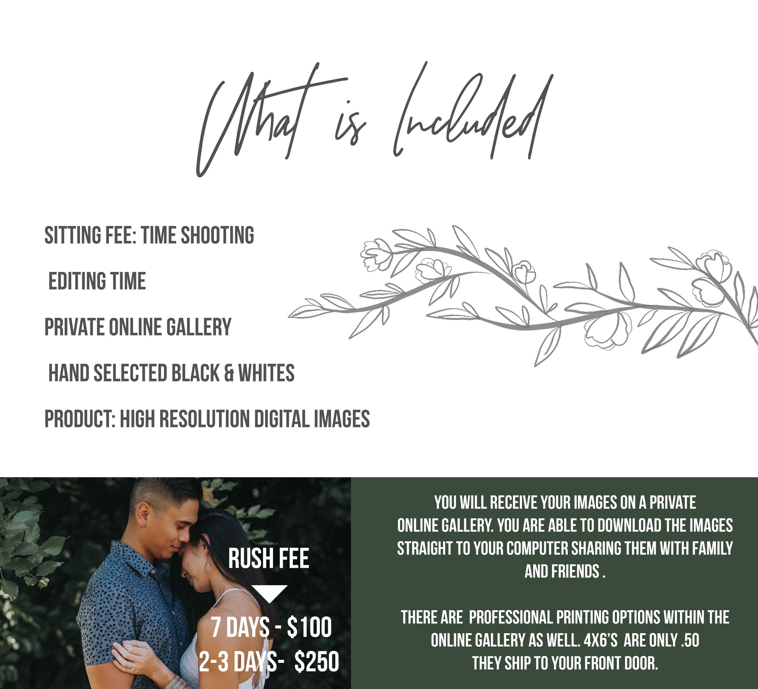 2019 Engagements and Love Pricing Packges Christine Wozz Photography Whats Included.jpg