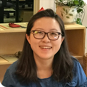 """The scholarship helped me feel I was recognized and included in the MNW community.  From the training  I gained not only the way to aid children's development but also learned how to be better myself. The 10 months training for me is a key to Montessori education and the whole world.""    — Feifei Wang, MNW Scholarship recipient"
