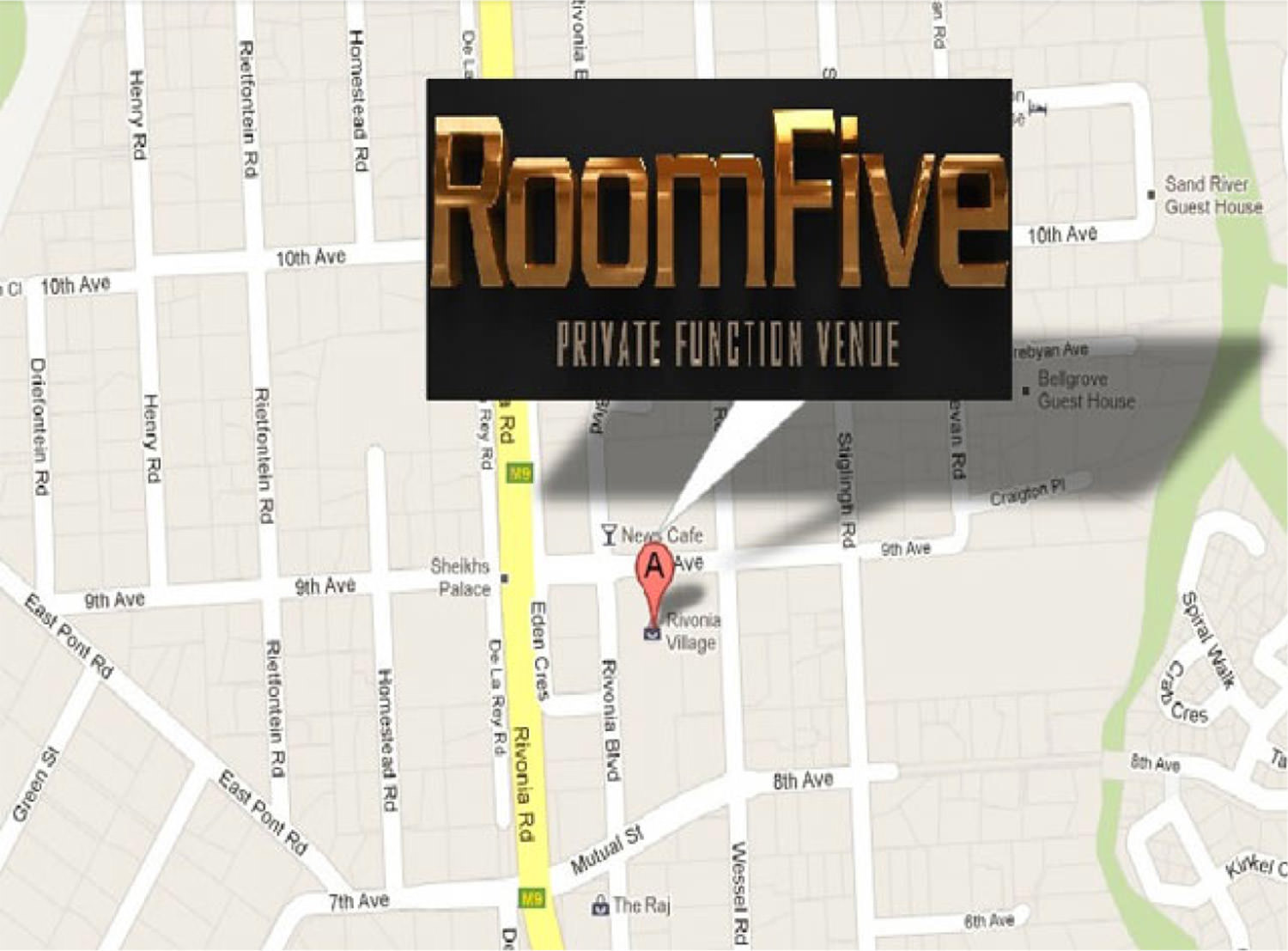 RoomFive Function Venue