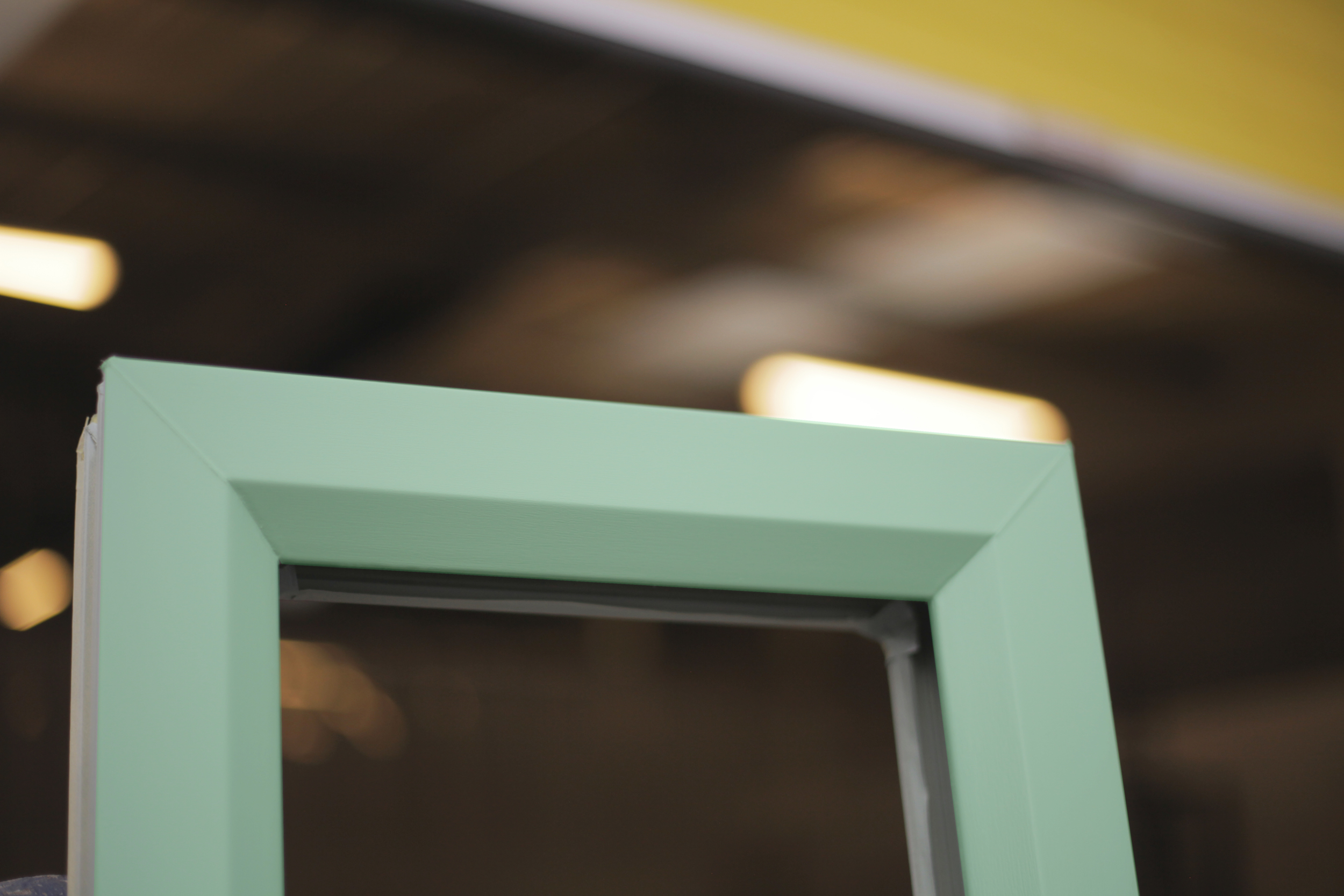 Open your eyes to the endless possibilities of COLOUR. (Picture features Chartwell Green)