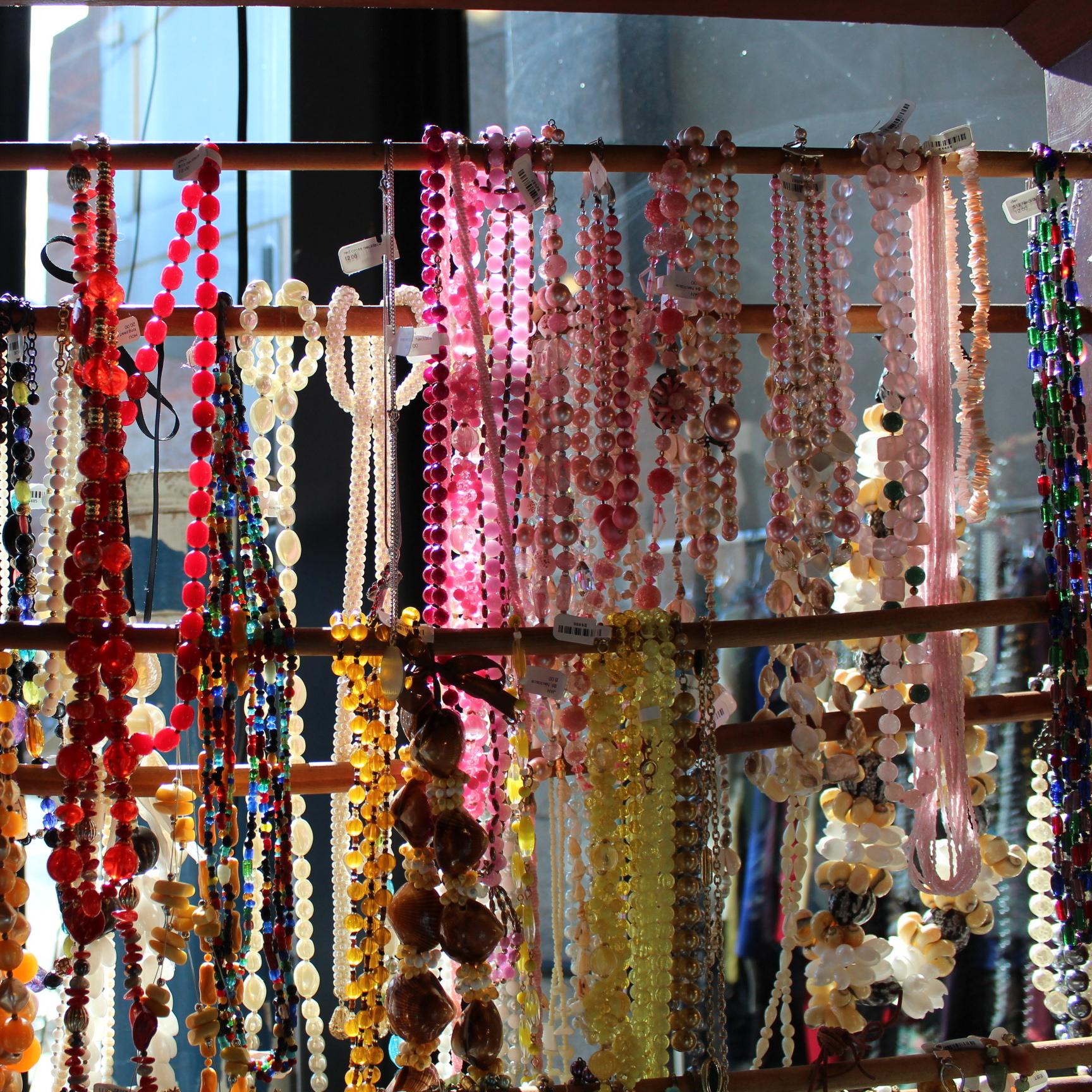 A Rainbow of Beads