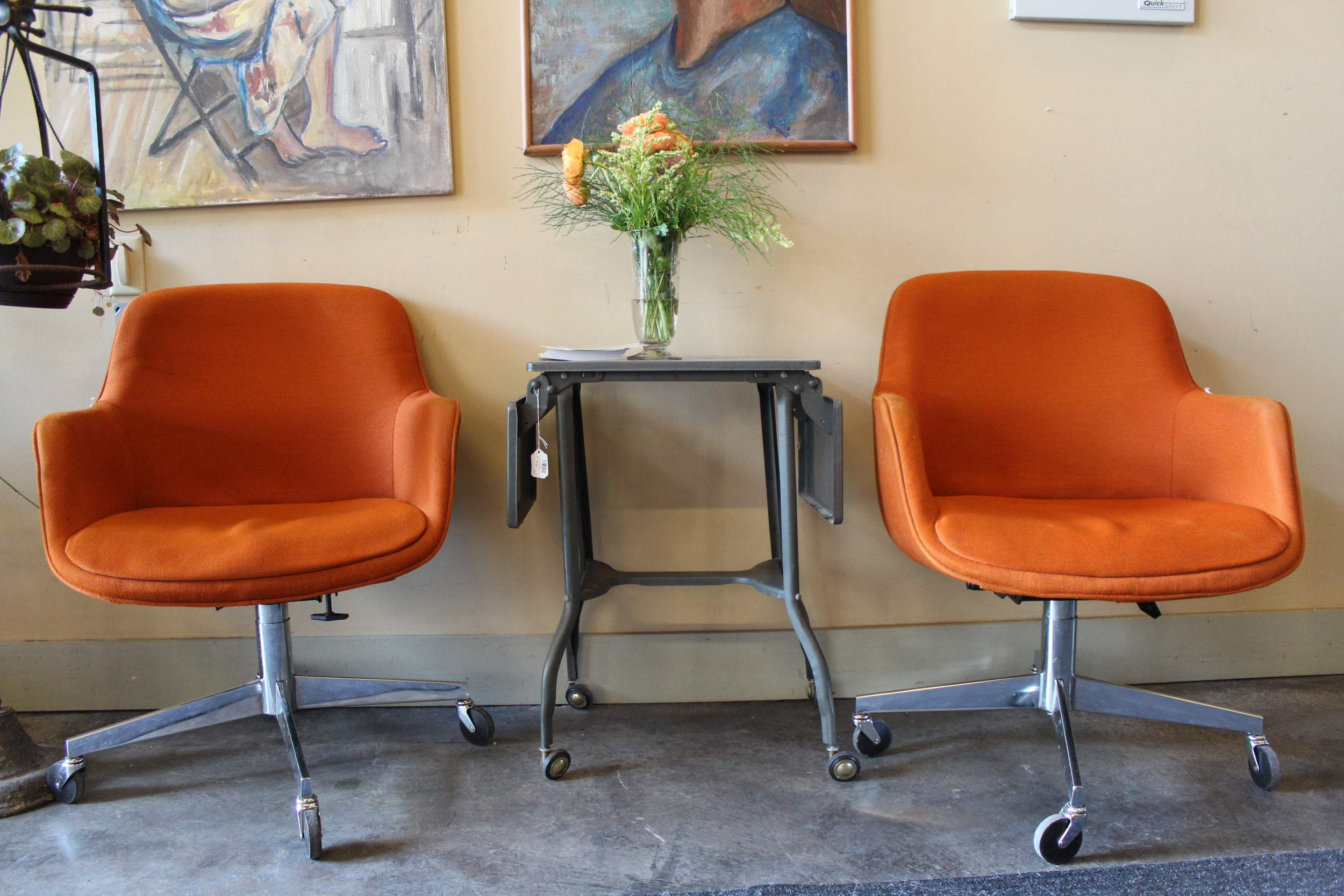 Steel Case Office Chairs