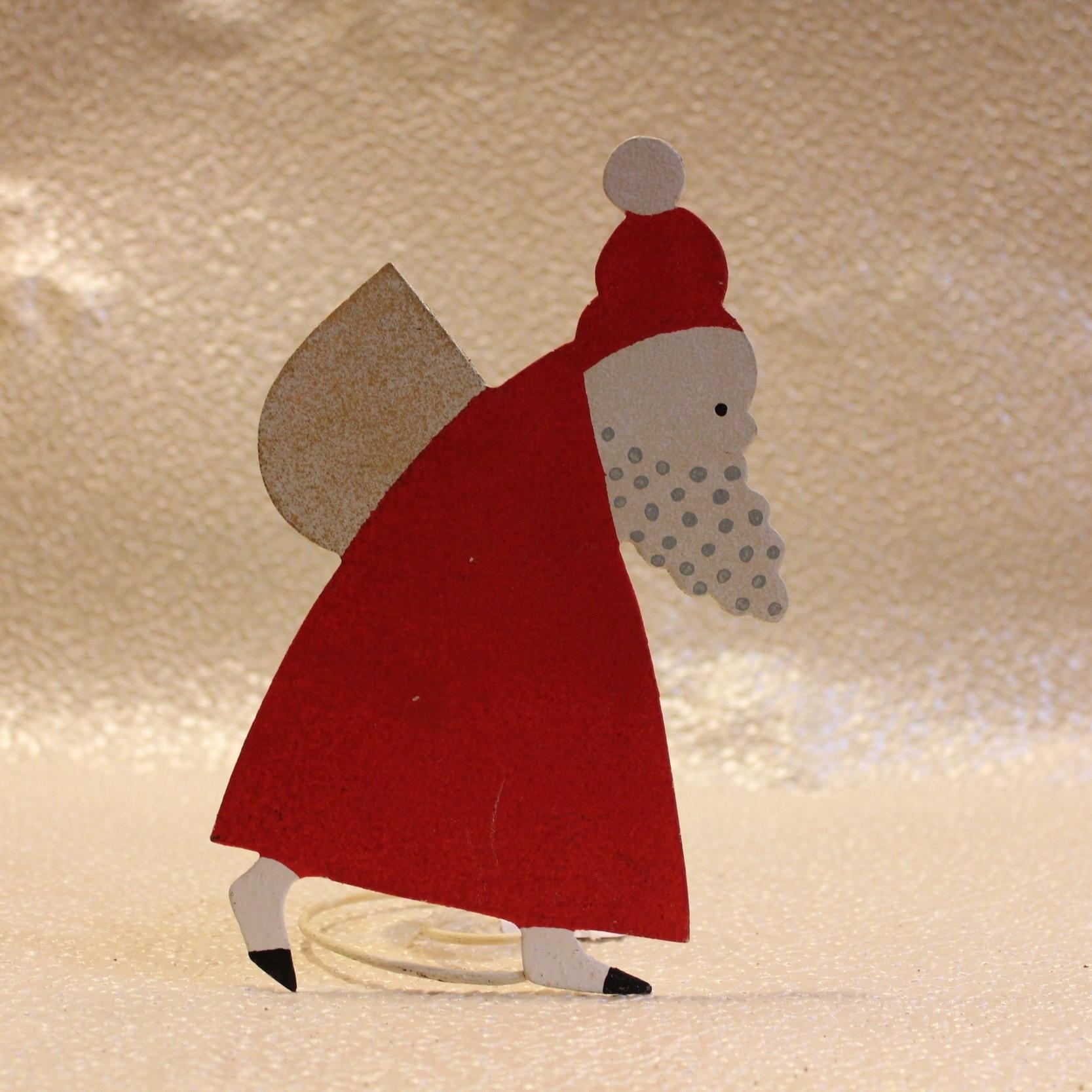Santa candleholder
