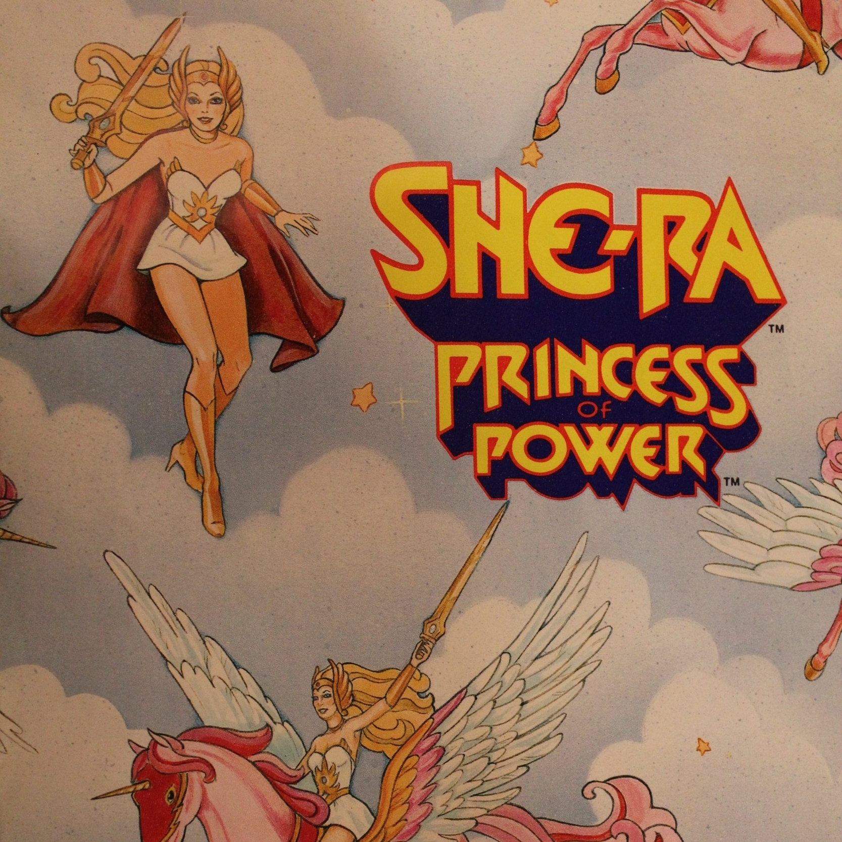 She-Ra Princess Power Wrapping Paper