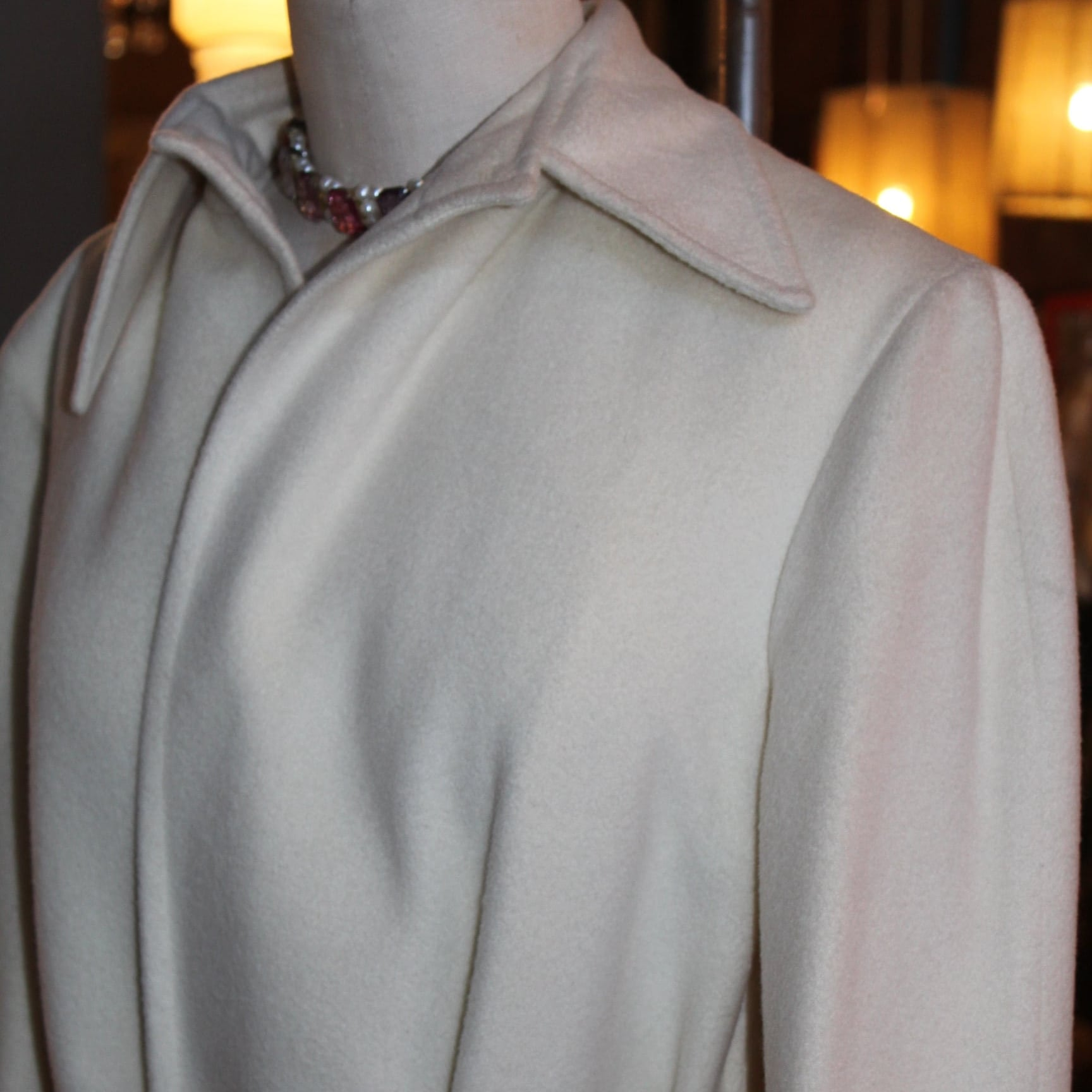 White Ilie Wacs Coat