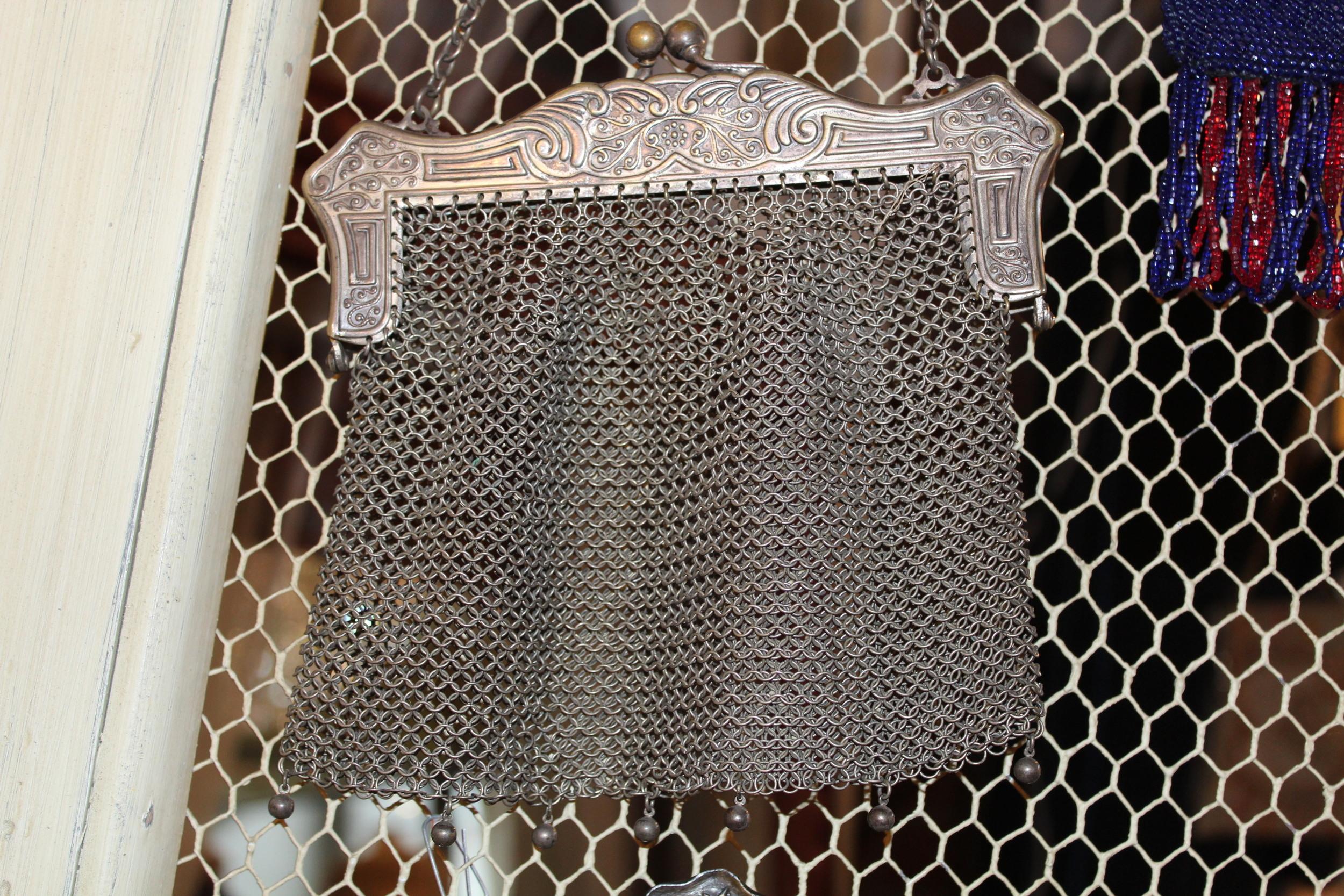 Mesh Metal Vintage Bag
