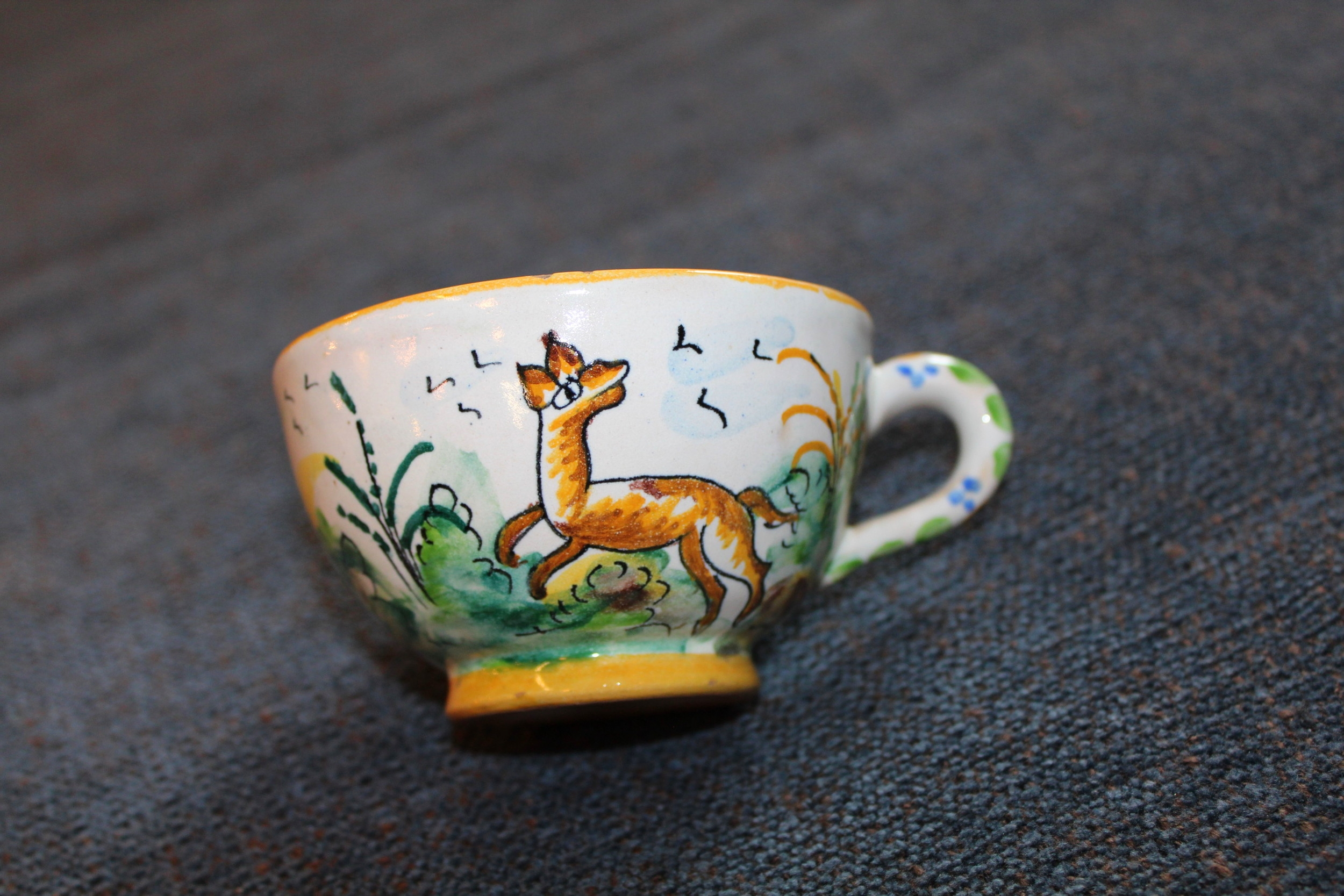 Handpainted Spanish Teacup