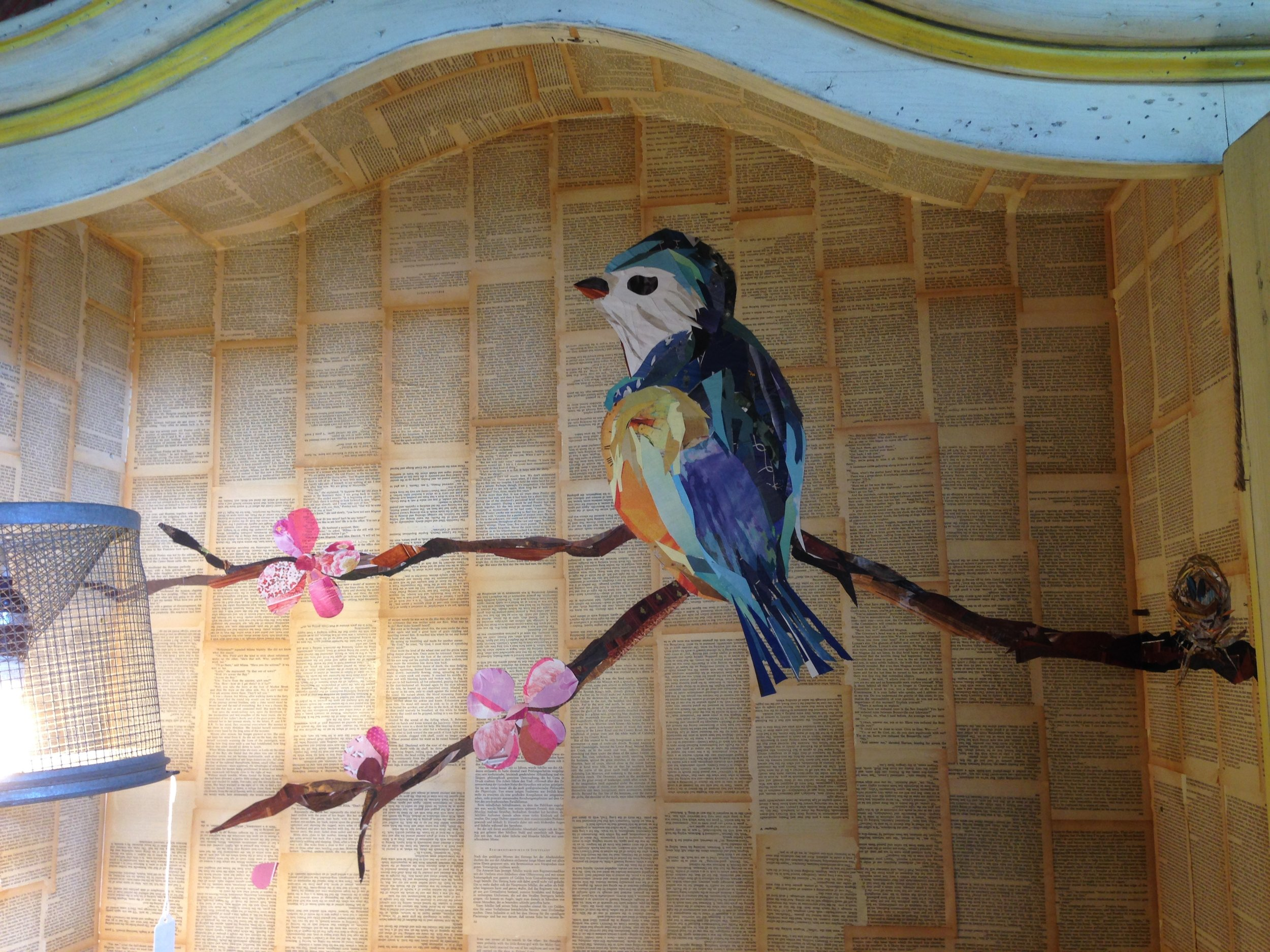decoupage.chickadee