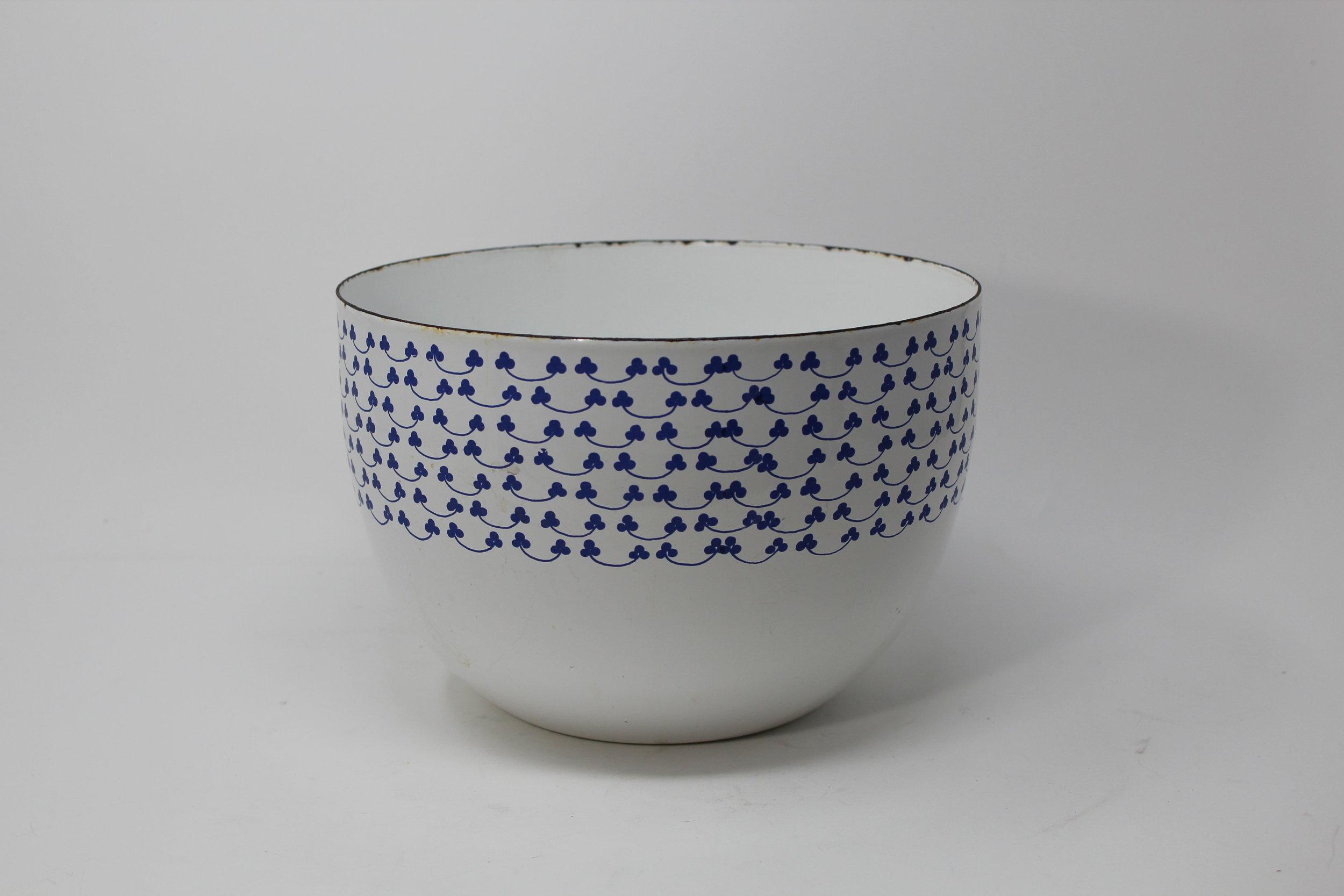 Arabia Blue & White Bowl
