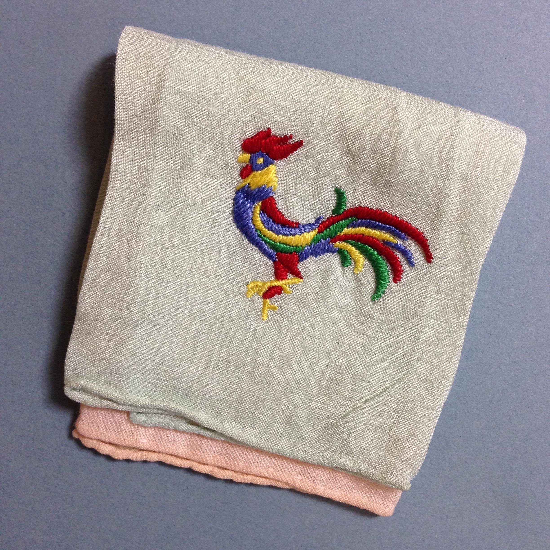 Rooster Handkerchief