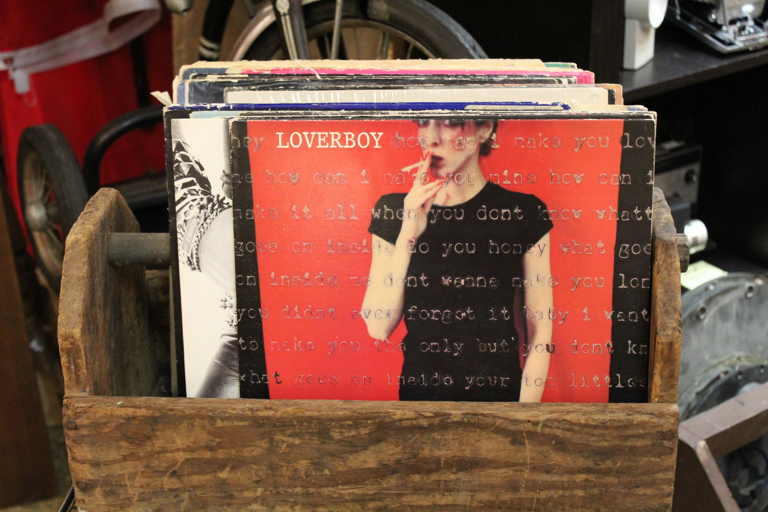 Loverboy LP Record