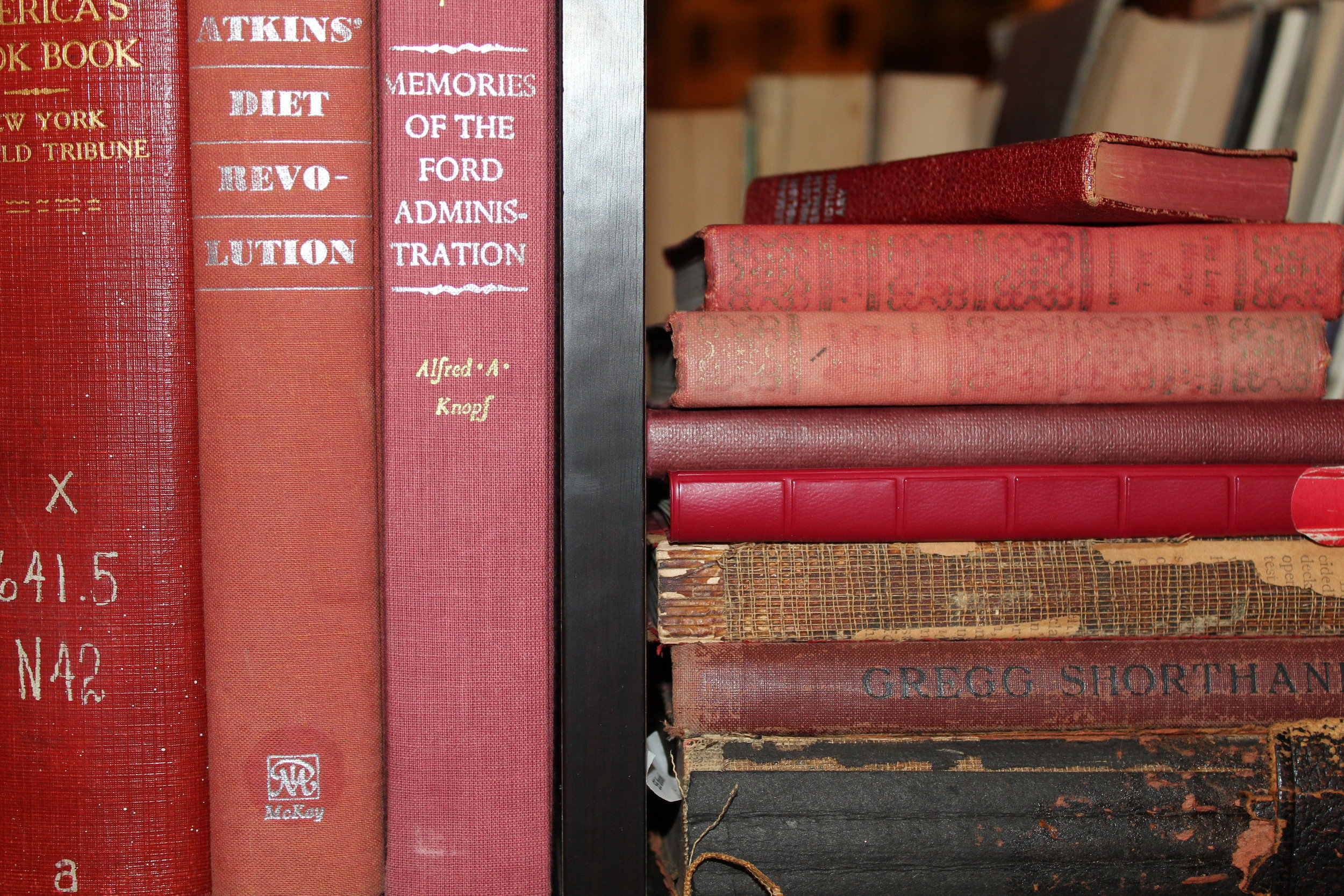Red Vintage Books