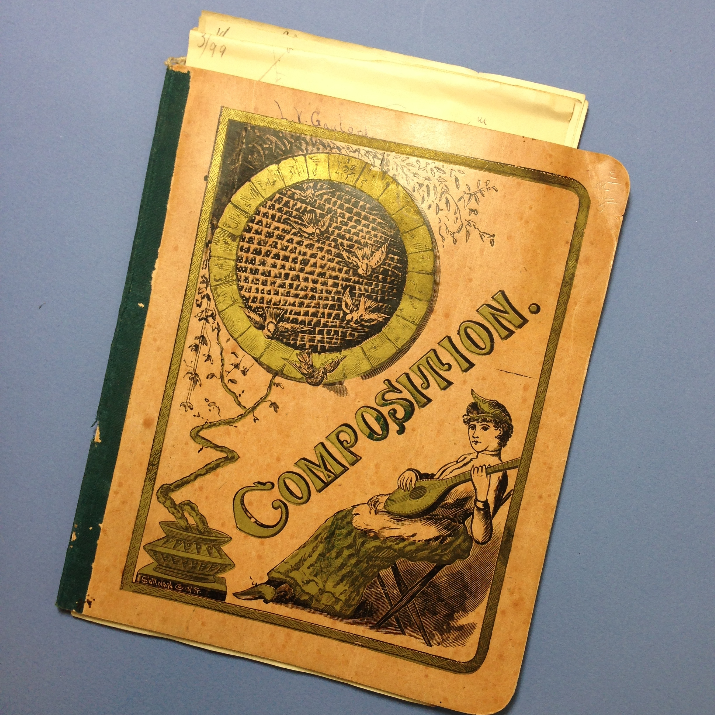 Vintage Composition Book from Yale Classes