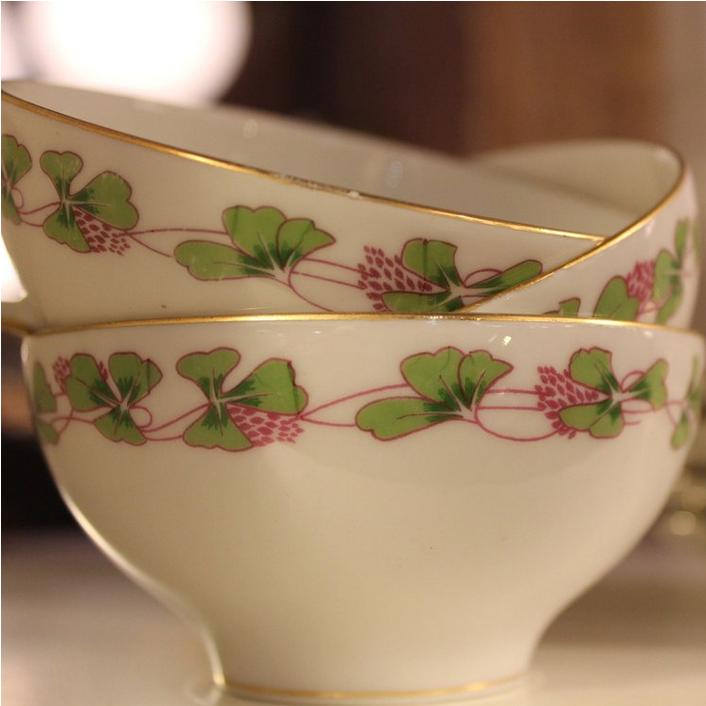 Clover Teacups