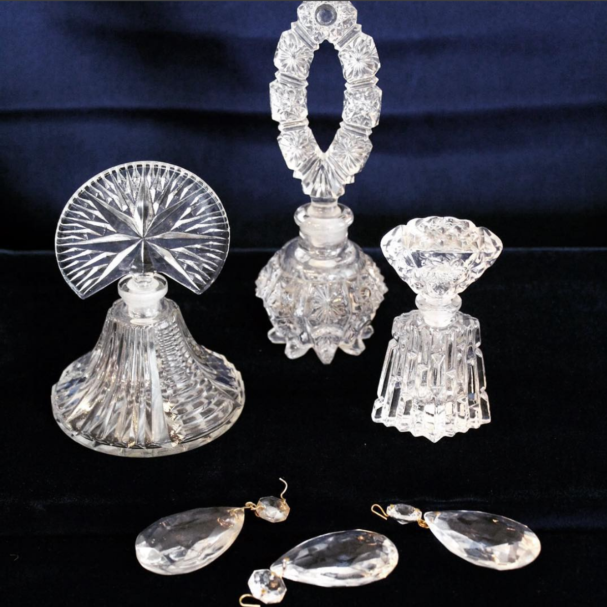 Crystal Perfume Decanters