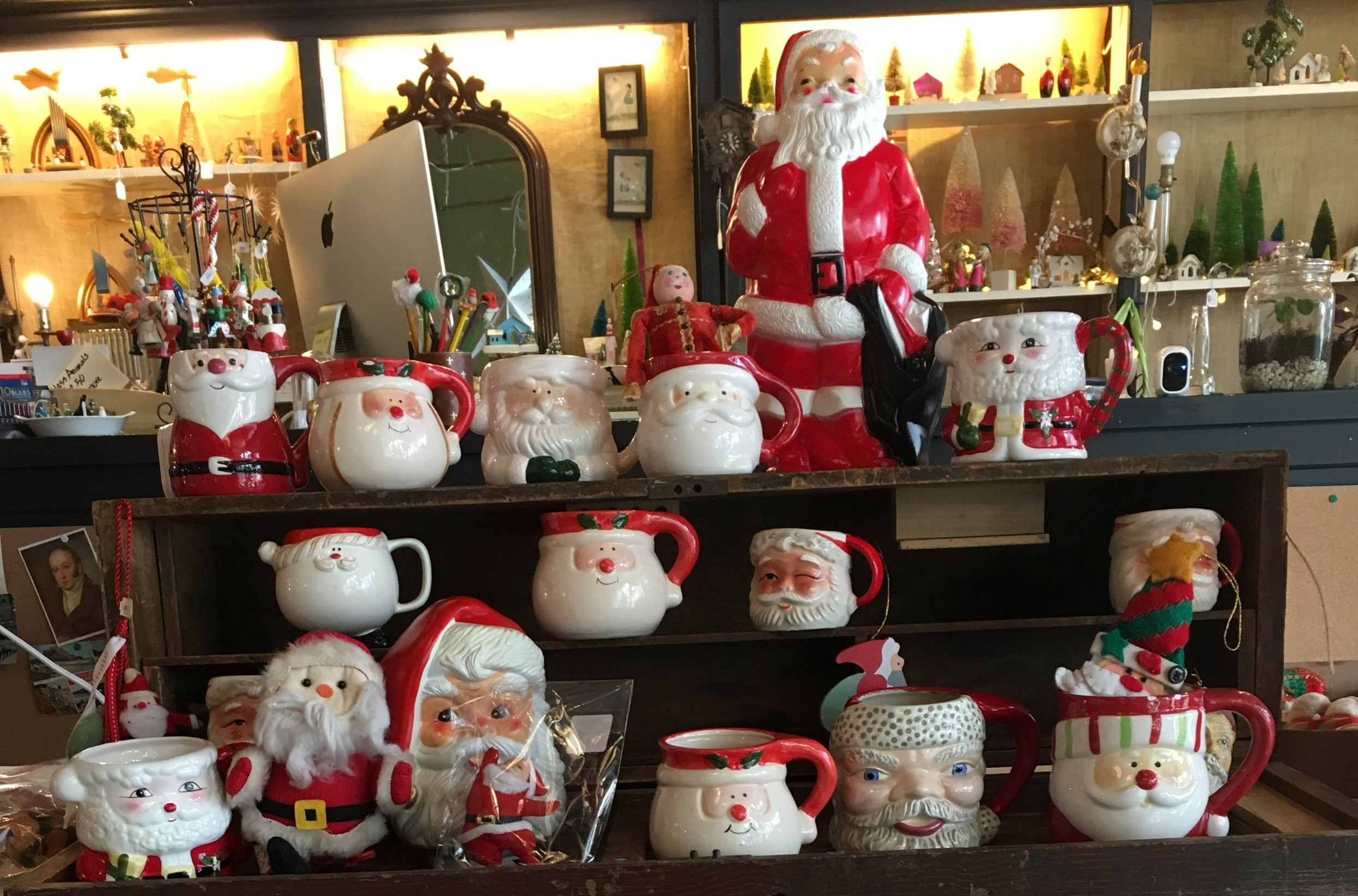 HO Ho Ho - Christmas is coming and we have loads of Vintage Ornaments. Come on by and see for yourself