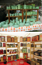 Get collection-inspired at local antique and flea markets