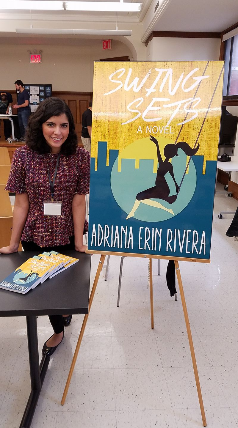 Adriana Erin Rivera at Indie Author Day 2017