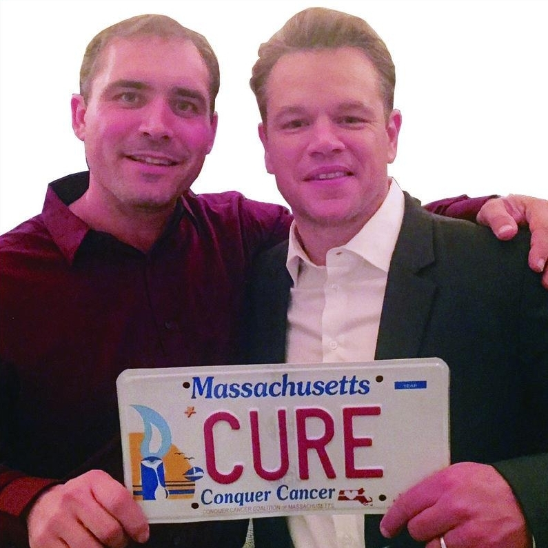 Our Plate - Everyday, thousands of Massachusetts Driversare driven to make a difference with a Conquer Cancer License Plate on their cars...