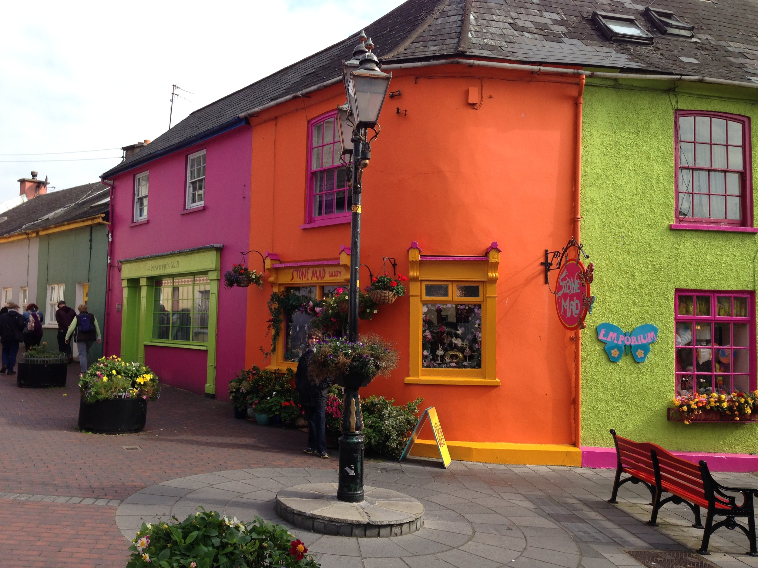 Charming Kinsale, on the southern coast of Ireland.