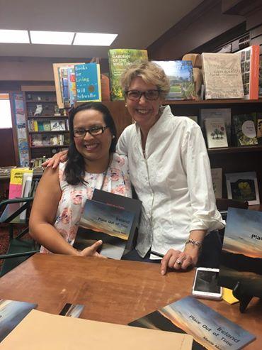 With Haydee Perez