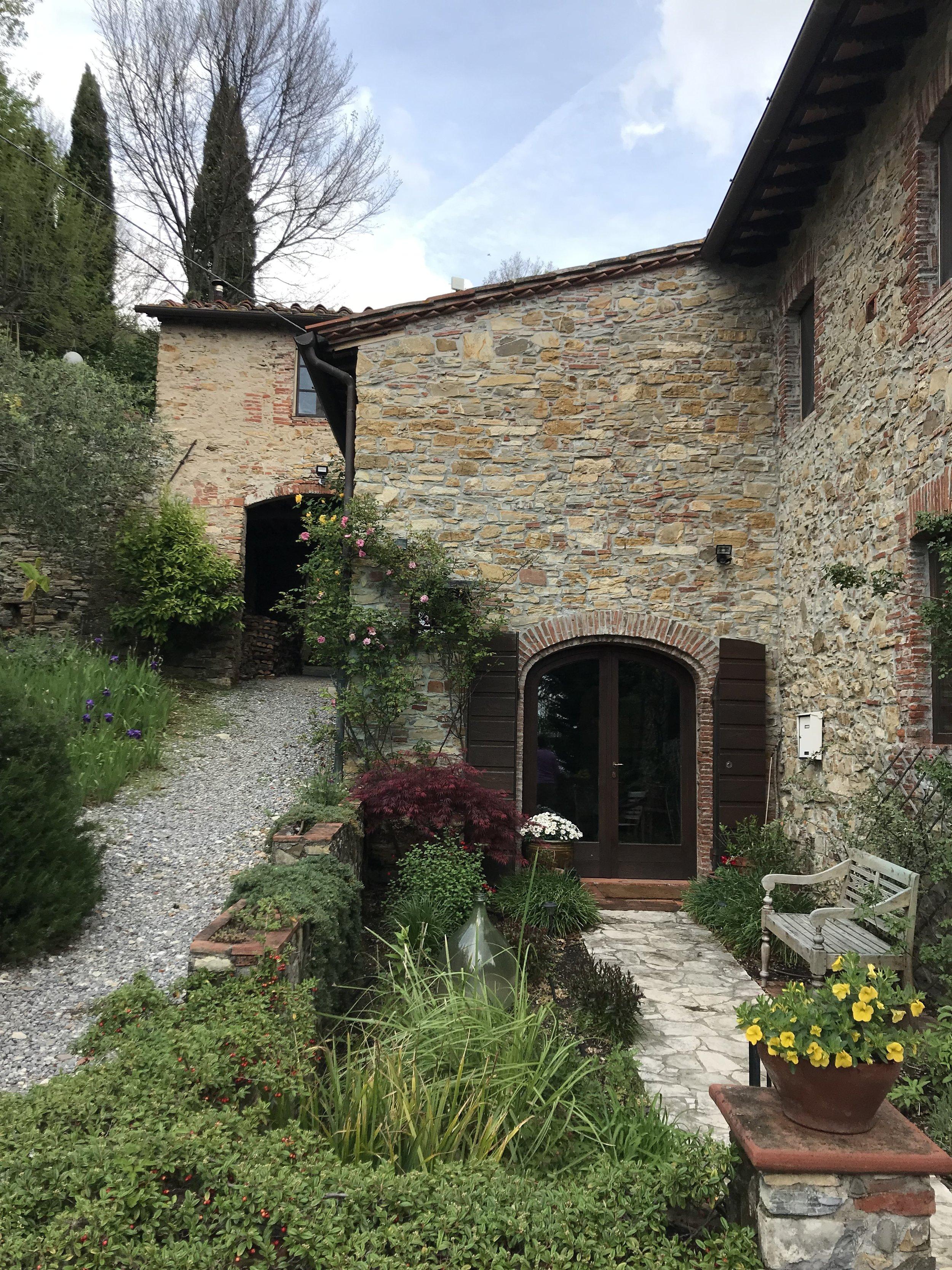 The entrance to Casa Fiori