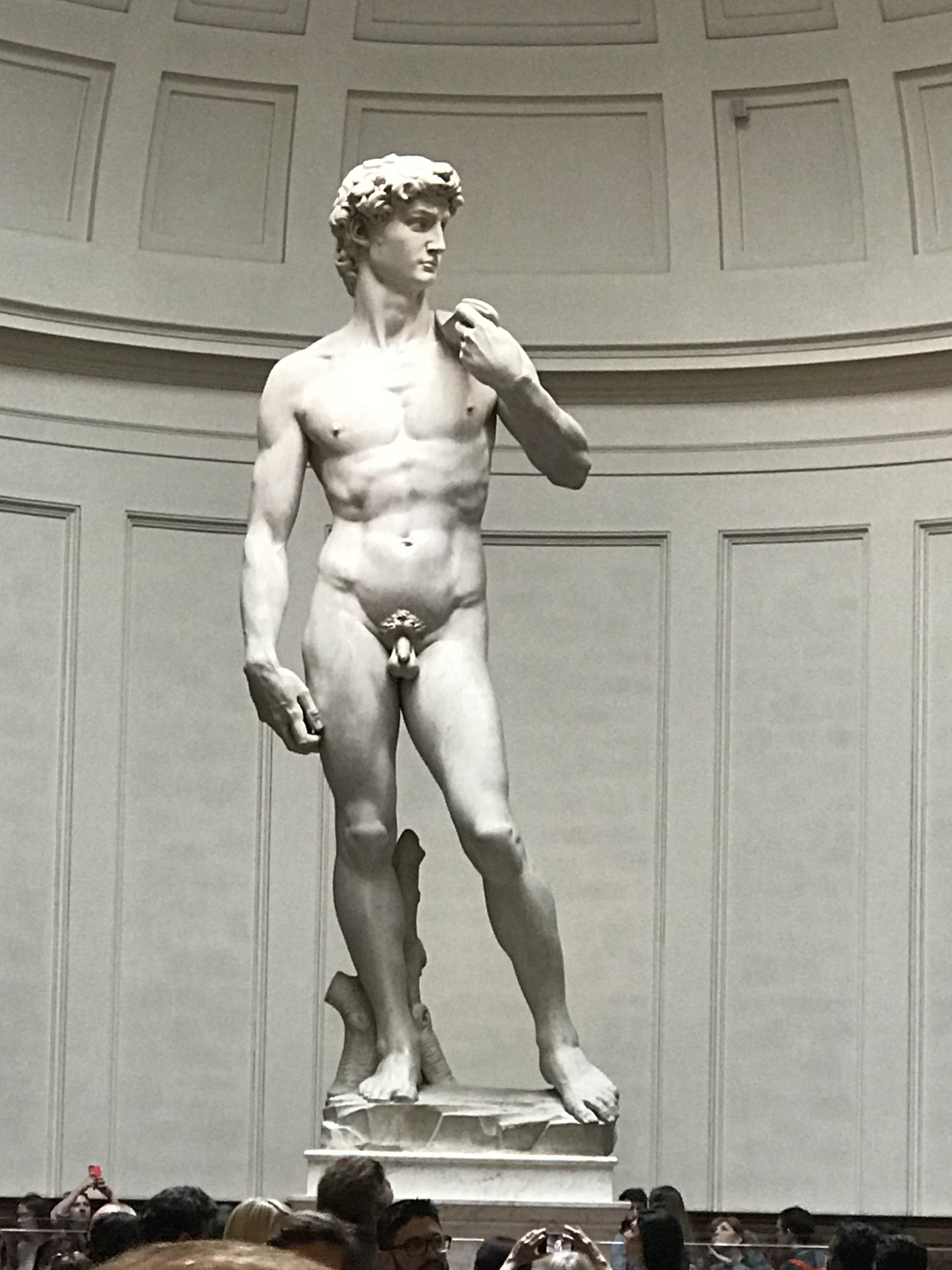 Michelangelo's David is as impressive as it's said to be.