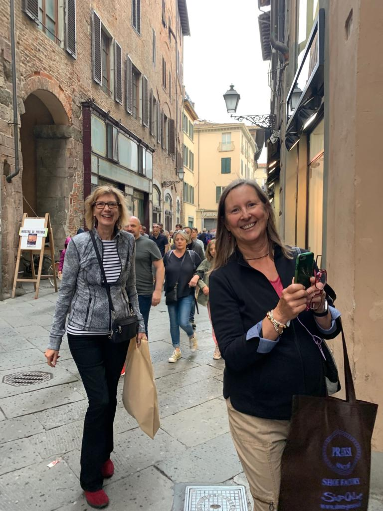 Shopping in Lucca