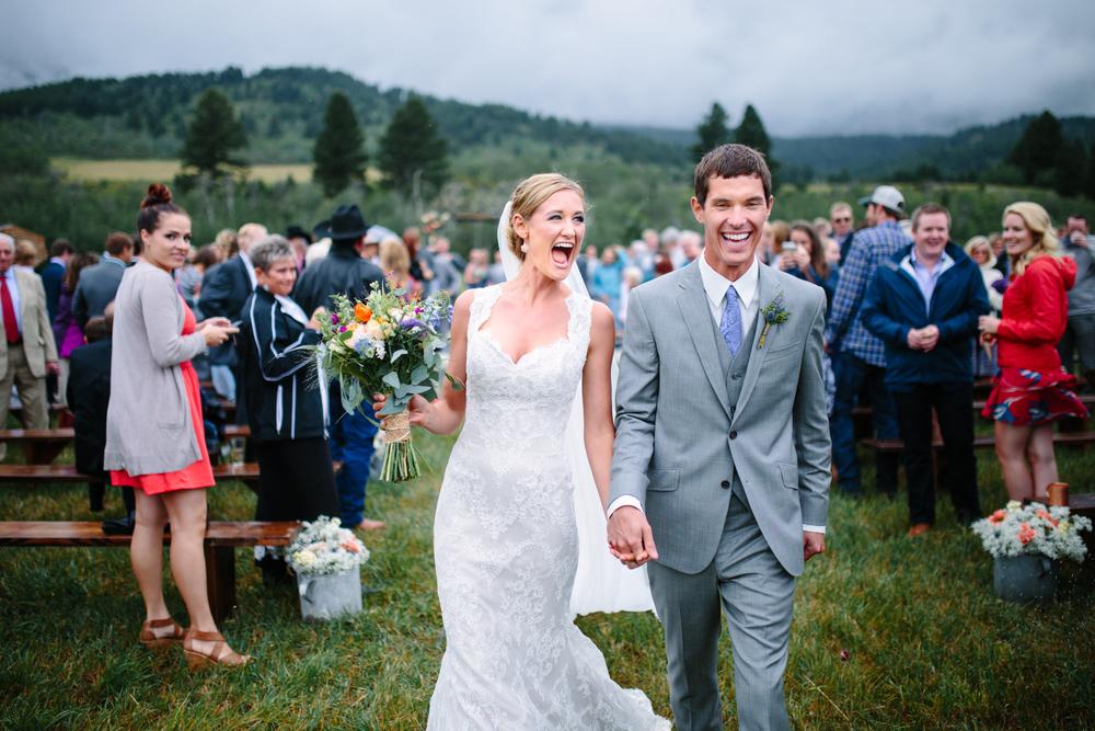 BRIDGER MOUNTAINS WEDDING ➳ SIERRA & DJ