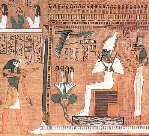 The story of Osiris -  A 3,000BC social media tactic?