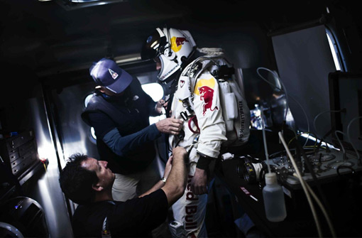 Red Bull Stratos Branding Event. Brand Religion - Overcome the Extreme
