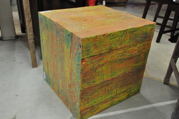 "Warna Cube  20""W x 20""D x 20""H  Price: $295, color varies"