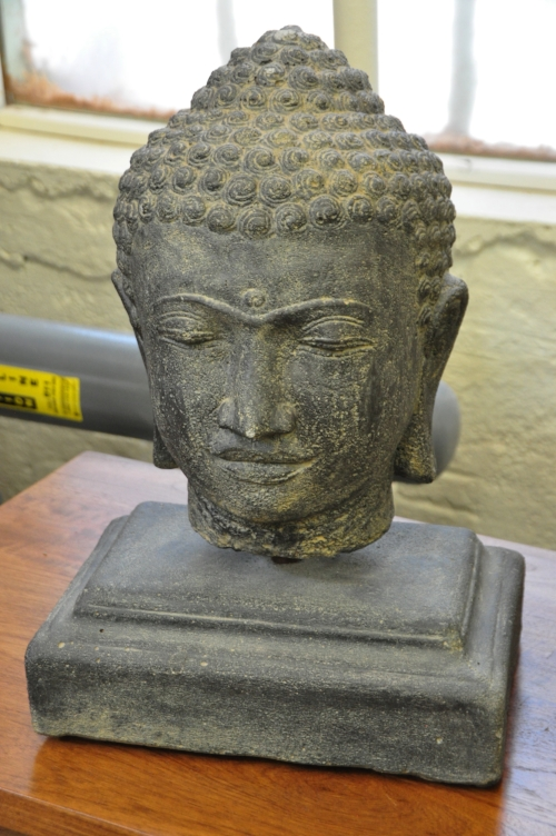 Buddha Head on Stand  Price: $95