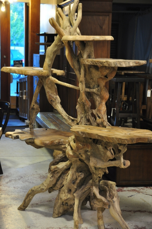 Teak Root Plant Stand  Price: $1,565-$2,175