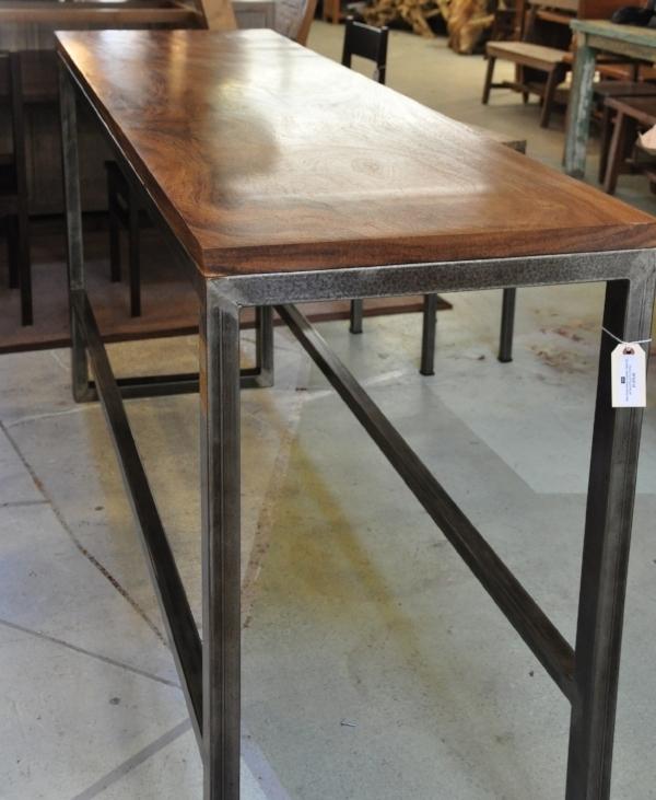 "Besi Rose Wood Bar Table     Price: $1,775   84""L x 23""D x 41""H"