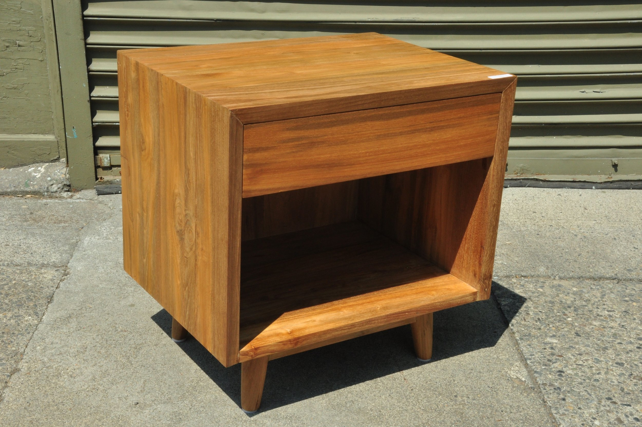 "Kotak Side Table  21""W x 16""D x 21""H  Price: $425"