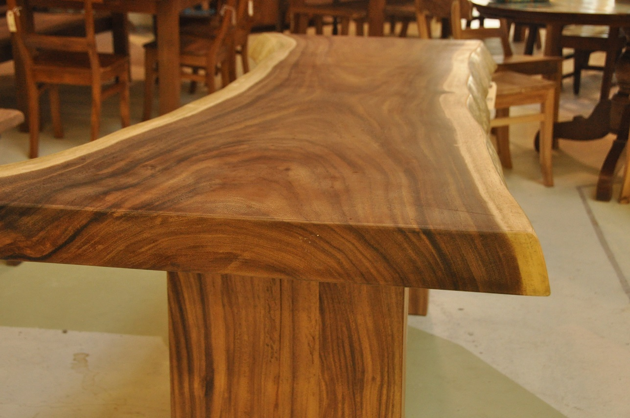 "Rose Wood Table  (Examples of prices and sizes)  $5,797, 126""L x 40""D x 30""H  $4,347, 110""L x 31""D x 31""H"