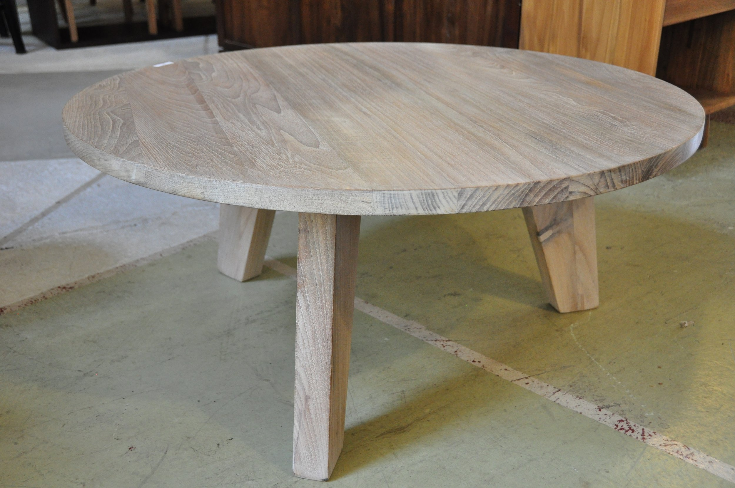 "Bulat Coffee Table  38""D x 17""H Price: $695  54""D x 17""H Price: $1,125"
