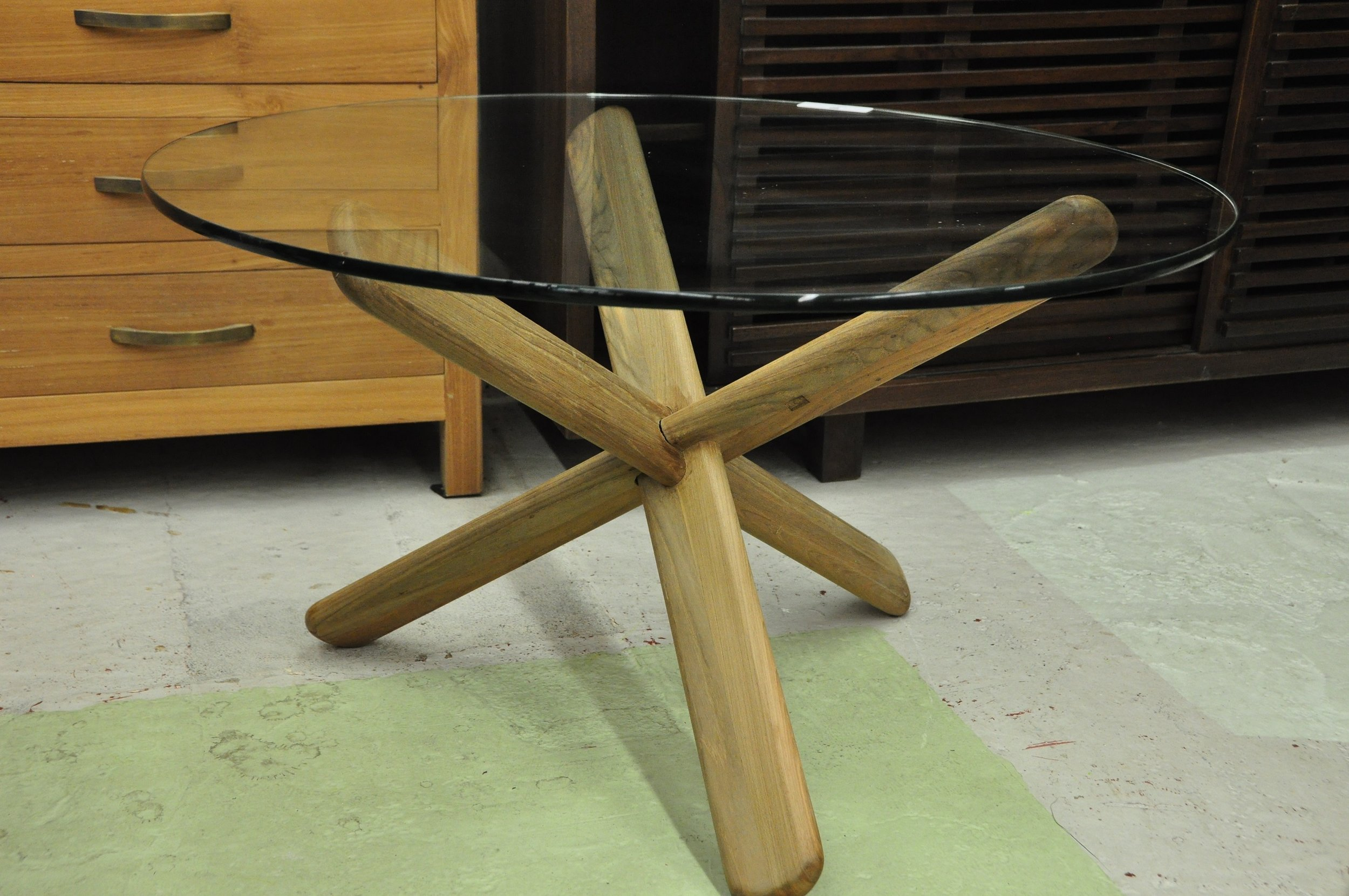 "Silang Coffee Table  30""D x 18""H  Price: $322"
