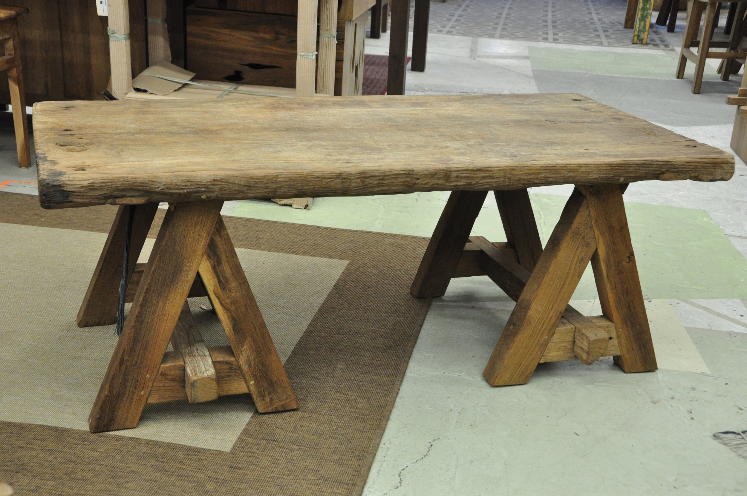 """Cagak Coffee Table  47""""Wx23""""Dx14""""H Price: $449  59""""W x 23""""D x 17.75""""H Price: $489  60""""W x 31""""D x 14""""H Price: $524  39.5""""W x 39.5""""D x 18""""H Price: $722"""