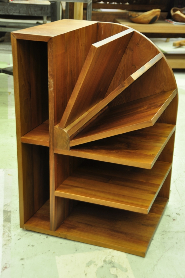 "Lembar Bookshelves    20""W x 18""D x 30""H       Price: $995.00"