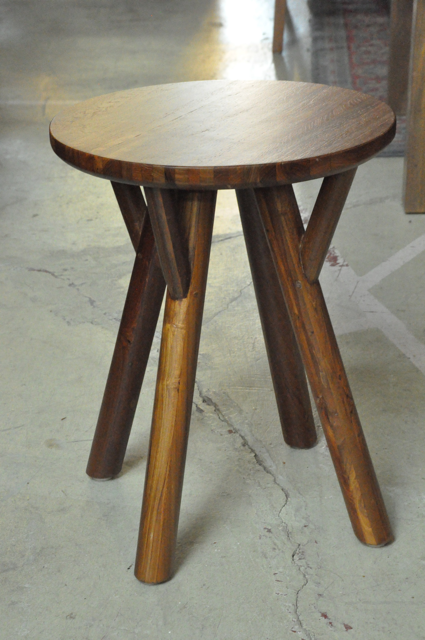 """Ranting Side Table  14.5""""D x 18""""H  Price: $185"""
