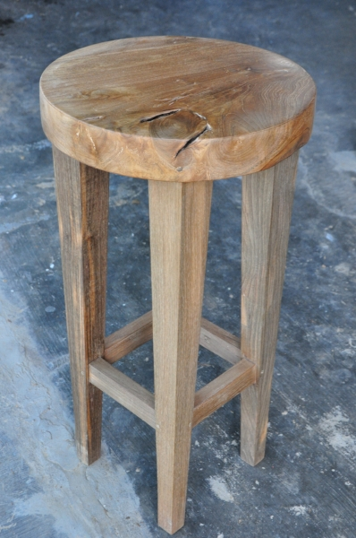 """Frenchy Barstool  Price: $180  14""""D x 28""""H"""