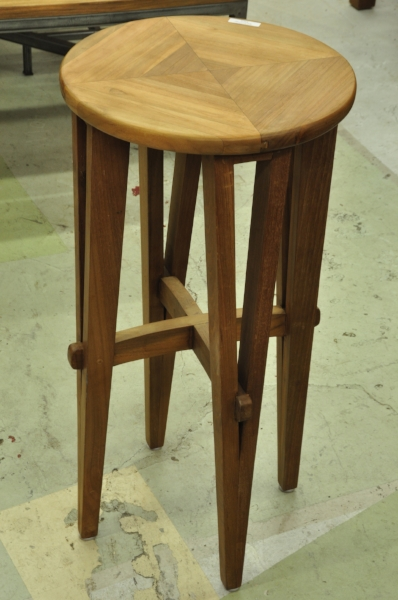 "Jarum Barstool  Price: $195  15""D x 30""H"