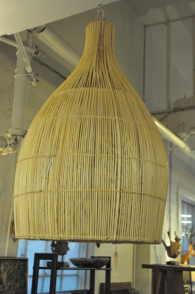 "Bali Lampshade Large  18""W x 18""D x 30""H  Price: $215.00"
