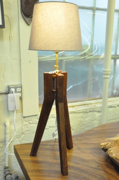"Claire Table Lamp  11""Wx11""Dx23""H  Price: $125.00"