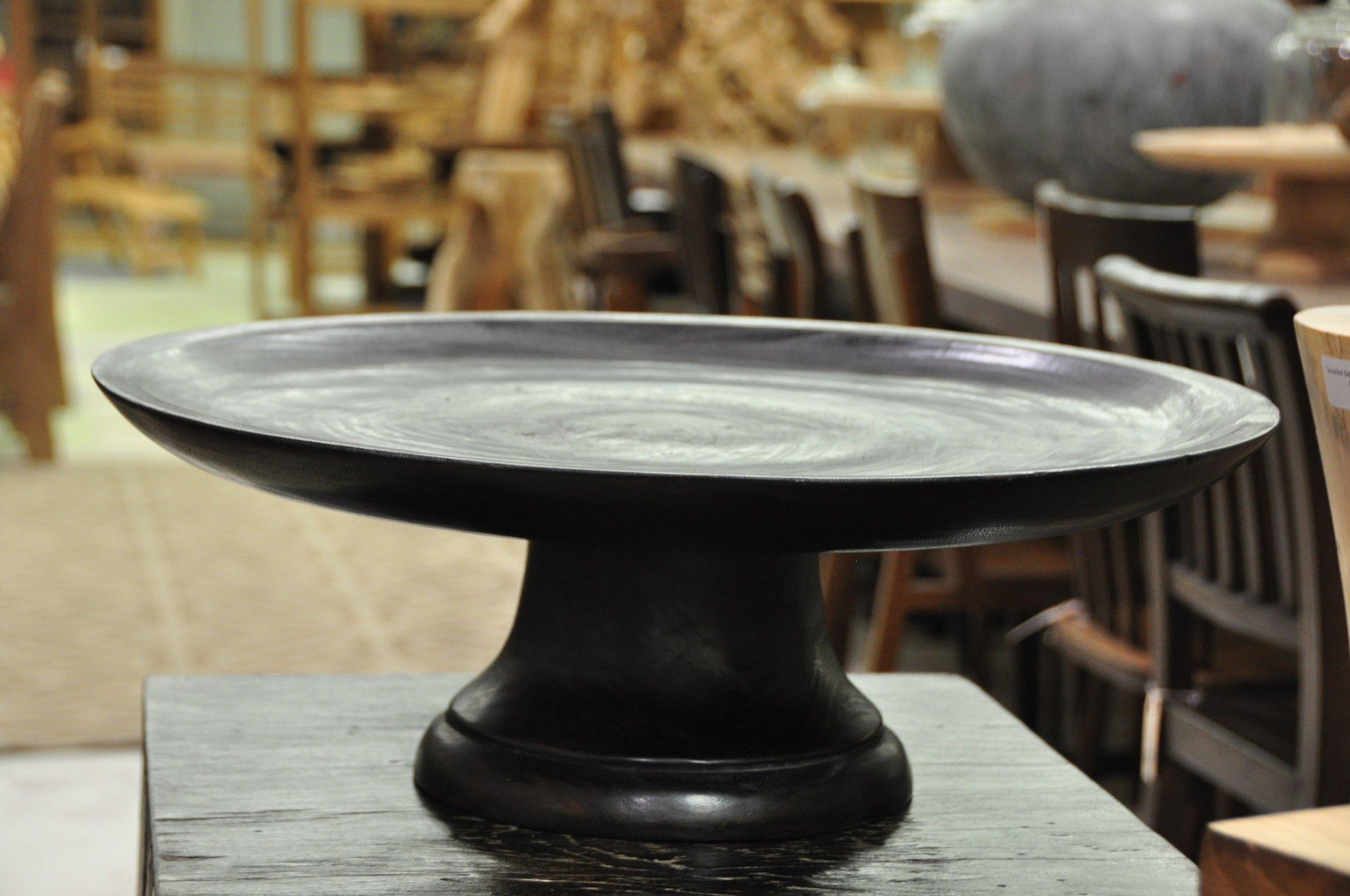 """Pedestal Platter  Price: $123, 20""""D x 8""""H"""