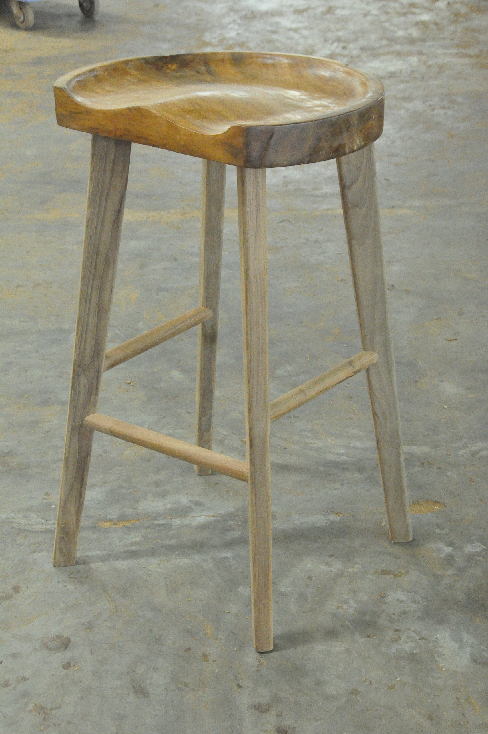 """Curved Barstool  17""""Wx14""""Dx28""""H  $265"""