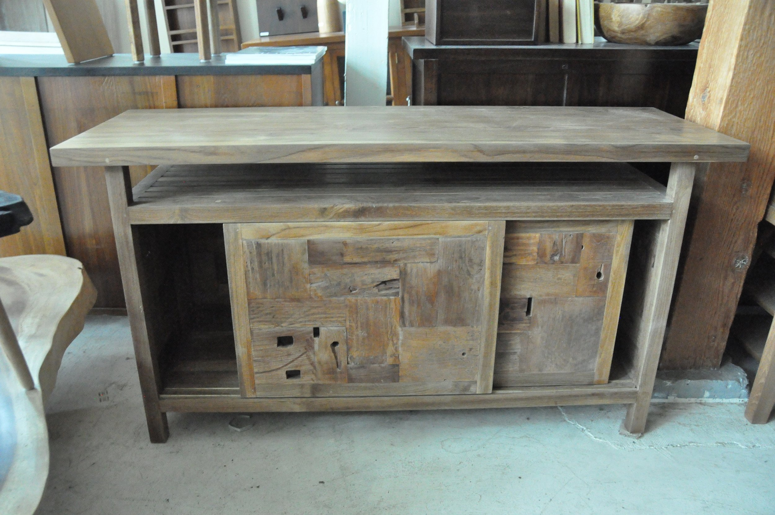 "Dingklik Console Table  59""Wx20""Dx30.75""H   Price: $1,115"