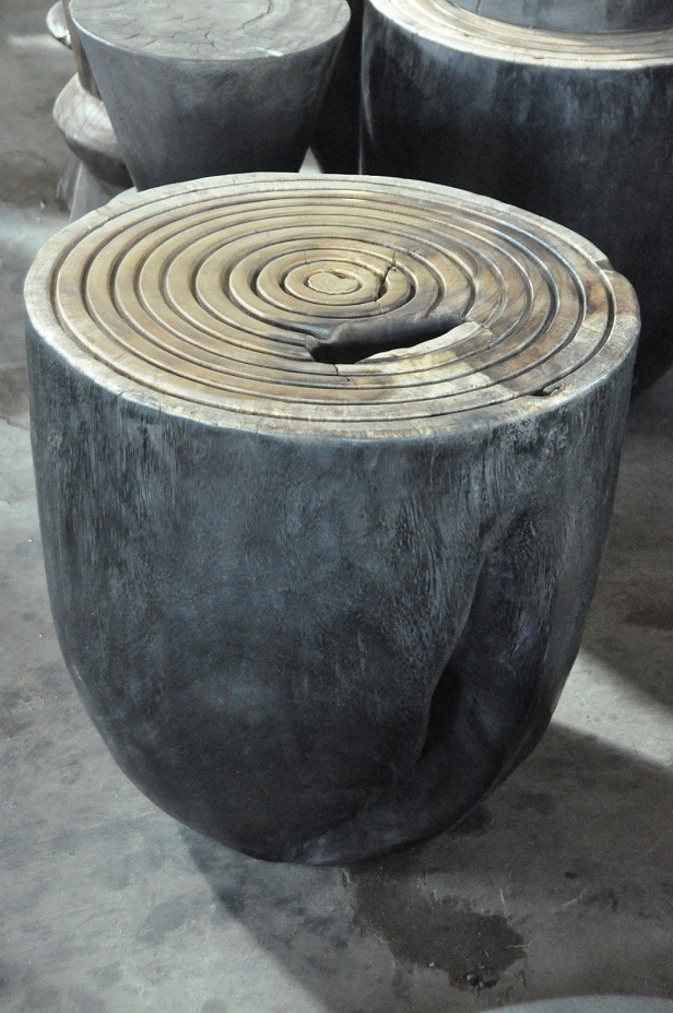 """Spiral Side Table  20""""Dx20""""H  Price: $544"""